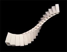Matt Schlian\'s paper engineer sculpture