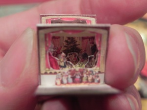 The tiniest pop-up book made by Angelika Oeckl