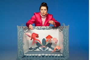 """Seduce Me"" video series with Isabella Rossellini, paper cuttlefish set"