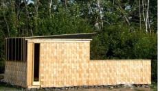 Building made of Books in Nova Scotia, exterior