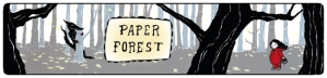 Paper Forest web site