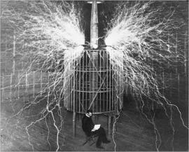 Nikola Tesla documentary performance piece