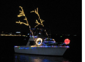 Rudolph the Red Nosed Reindeer boat, Alexandria, Virginia