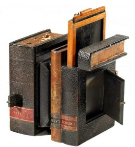 Camera in the Shape of a Book