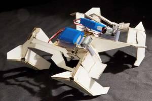 Origami Transformer Robot
